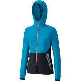 Mizuno Static BT Softshell Hoodie Women ocean/black